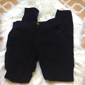 maurices velvet pants size 5/6 (A37)